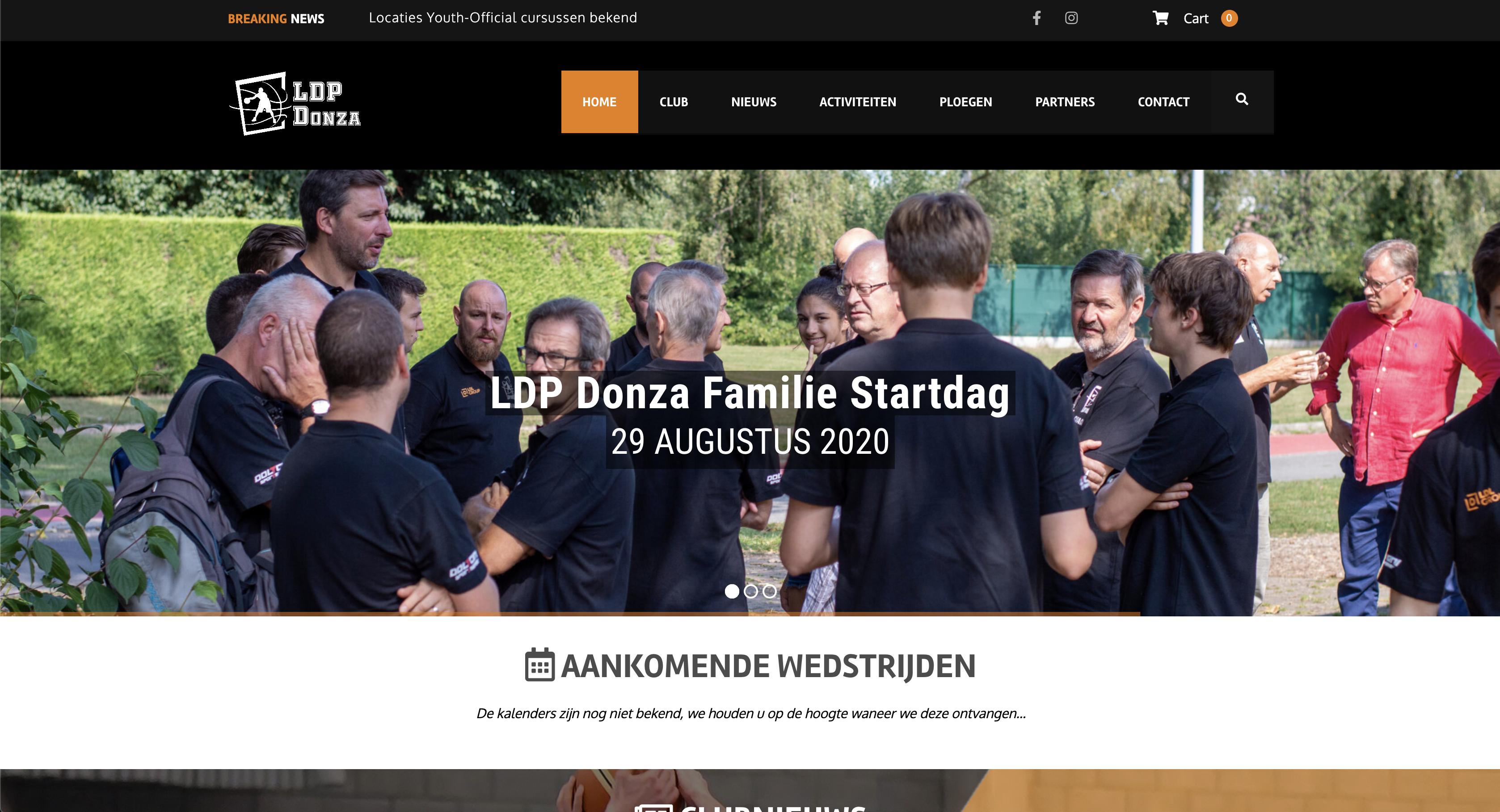 Website LDP Donza